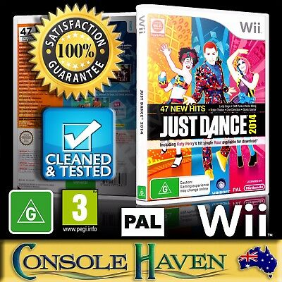 (Wii Game) Just Dance 2014 / 2K14 / 14 (G) (Music & Dancing) PAL, Guaranteed