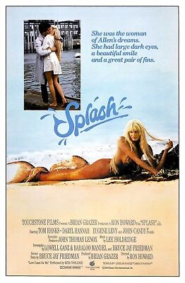 Splash 1984 Movie Poster  13x19