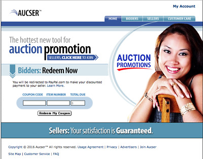 Custom website niche market Users Create Online Coupons for buyers & sellers