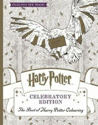 HARRY Potter Colouring Book Celebratory Edition von Warner Brothers ...
