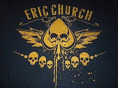 Eric Church Tour Shirt ( Used Size S ) Nice Condition!!!