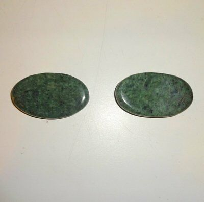 1 Pair of Jade Eye Relaxing Stones (Facial Hot / Cold Stone Massage) Kit