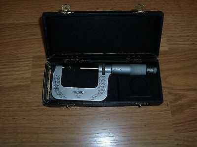 """Craftsman 1-2"""" 1/1000 Outside Dial Micrometer, made in Germany"""