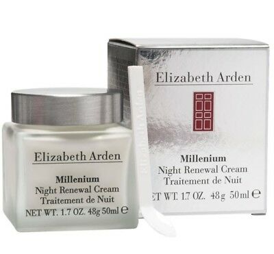 Elizabeth Arden Millenium Night Renewal Cream 50ml. New, boxed and sealed.