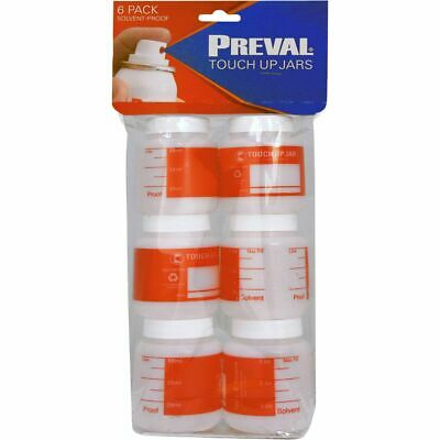 Preval Touch Up Jars 6pk