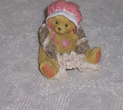 "Cherished Teddies Priscilla ""Love Surrounds Our Friendship"" 1992"