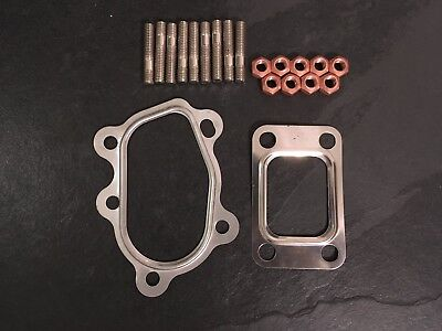 Fitting Kit For Garrett T25/T28 Turbo with M8 Studs, Nuts and Gaskets