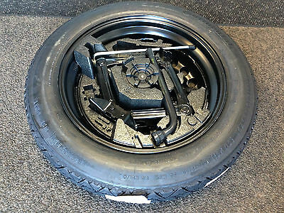 Genuine Volvo ' New V40 ' Spacesaver Space Saver Spare Wheel Tyre Kit & Tool Kit