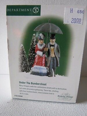 Dept 56 Dickens Village Series Accessories Under The Bumbershoot  #58460~NIB