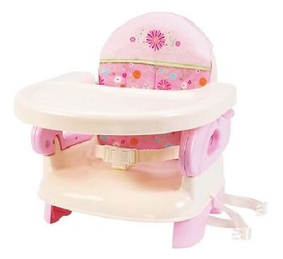Summer Infant Deluxe Comfort Folding Booster Seat Chair, Pink - 275