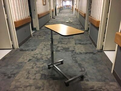 Direct Supply Over bed Table With U-Base