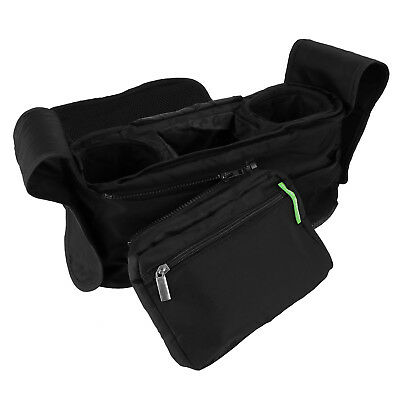 Baby Stroller Organizer Pushchair Caddy Basket Bottle Diapers Toys Storage Bag T