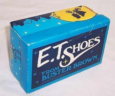 E.T. Movie, 1982, Buster Brown Shoe Box