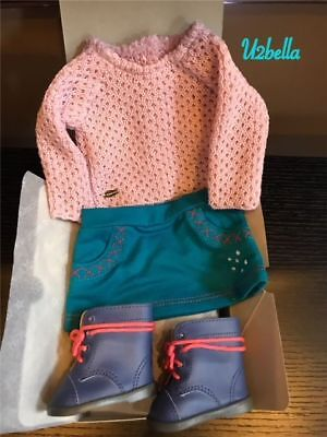 American Girl Sparkle Sweater Outfit WITH BOOTS TRULY ME NEW IN BOX