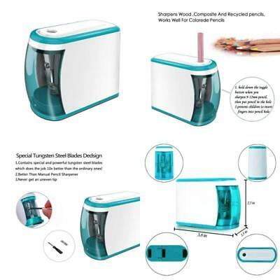 Electric Pencil Sharpener Colored Pencils Drawing Artist Student Office School