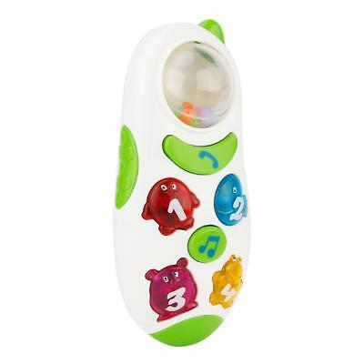 Funny Phone Toy Baby Learning Study Musical Sound Phone Educational White