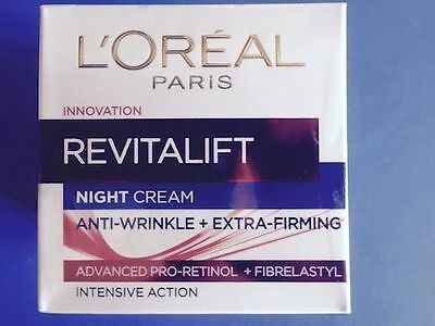 L'Oreal Revitalift Anti-Wrinkle & Extra Firming Night Cream 50ml
