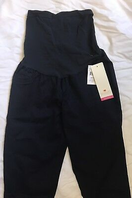 NWT Two Hearts Maternity Skinny Stretch Pants RINSE (Navy Blue) Size Small