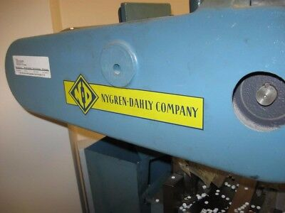 Nygren-Dahly K3 3-hole Paper Drill, used 3 hole paper drill, fair condition