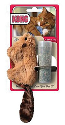 KONG Refillable Catnip Beaver Cat Toy Free Delivery UK Brand New