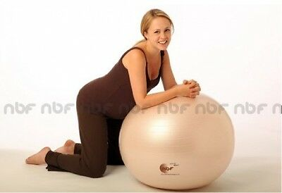 75cm Natural Birth And Fitness Birthing Ball And Pump - NBF Birth Ball