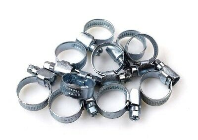 Stainless Steel Jubilee Clips  Genuine Hose Clips Fuel Hose Clamps Worm Drive