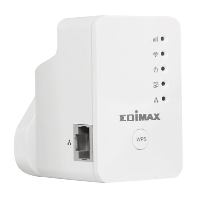 Edimax EW-7438RPn Mini N300 Smart Wireless Range Extender with Network Port...