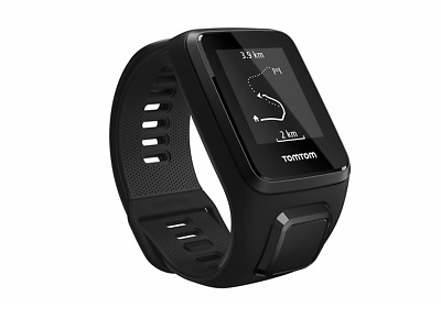 TomTom Spark 3 Multi Sport GPS Fitness Watch - Large Strap, Black