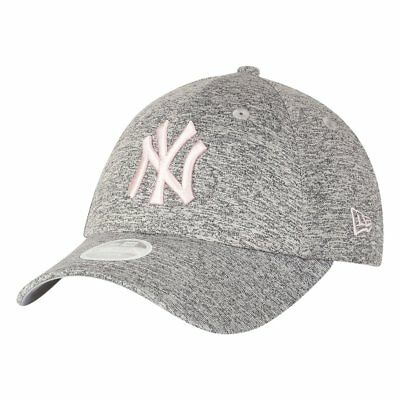 New Era 9Forty Damen Cap - JERSEY New York Yankees grau pink