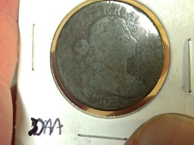 1807 US 1 Cent Draped Bust Large Cent  Type Coin, Wholesale on G is $75