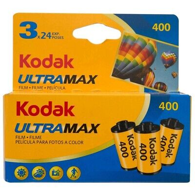 9 x KODAK ULTRAMAX Film (3X3PKS)! Colour Negative 35mm Film! Bulk Buy. Exp 01/20