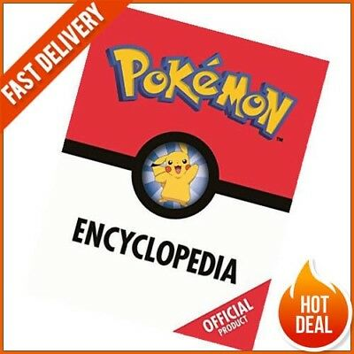 The Pokémon Encyclopedia Official Ultimate Guide Fascinating Facts FREE DELIVERY
