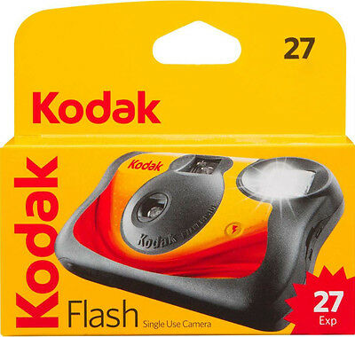 3x Kodak Flash Single Use Camera. 27 Exposures. Capture your memories! exp 06/20
