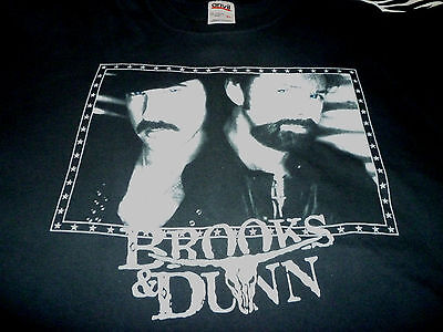 Brooks & Dunn Tour Shirt ( Used Size XL ) Nice Condition!!!