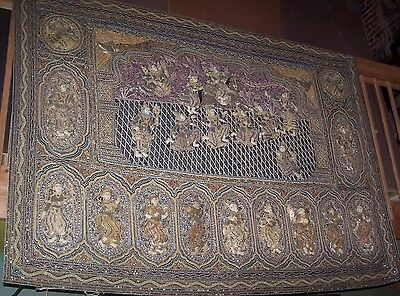 Incredible Large Oriental Kalagas from Thailand tapestry thai restaurant