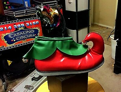 Professional Elf Shoes, US Seller, 2 Day Shipping Unisex Clown / Santa