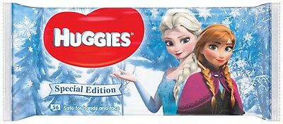 Huggies Baby Wipes Frozen Special Edition 20 packs x 56 wipes = 1120 wipes.