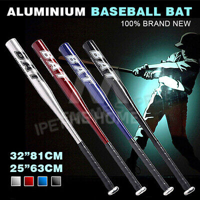 Aluminium Baseball Bat Racket Safety Defense Sports 25inch 63CM / 32inch 81CM OZ
