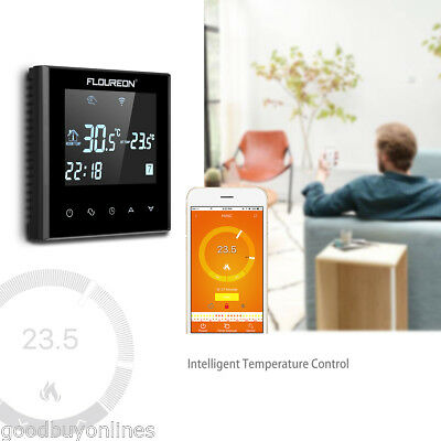 wifi ios android thermostat raumthermostat raumregler fu bodenheizung heizk rper eur 33 99. Black Bedroom Furniture Sets. Home Design Ideas