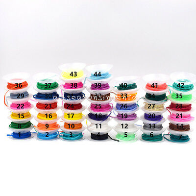 1Pcs Dental Ortho Continuous Type Elastolink Elastic Ultra Power Chain 44 Colors