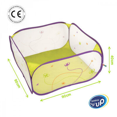 Ludi - 2839 Aire de Jeu Pop-Up Papillon