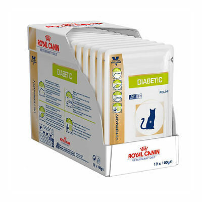 Royal Canin Vdiet Cat Diabetic - 12 x 100 gr