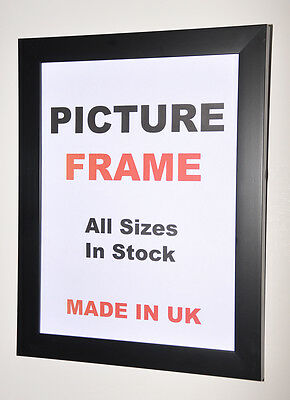 "Black photo frames 16"" x 20"" inches 