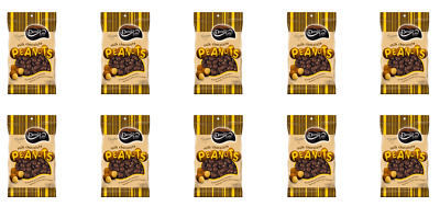 901906 10 X DARRELL LEA AUSTRALIAN MILK CHOCOLATE COATED PEANUTS 145g BAG