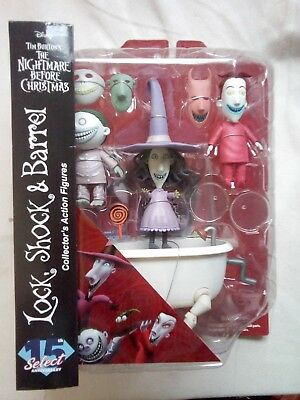 *REDUCED*Disney Nightmare before Christmas,Lock, shock & Barrel. Valentines gift