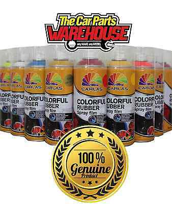 24 CANS of CLEAR LACQUER Rubber Aerosol GLOSS PAINT *plastic dip Carlas