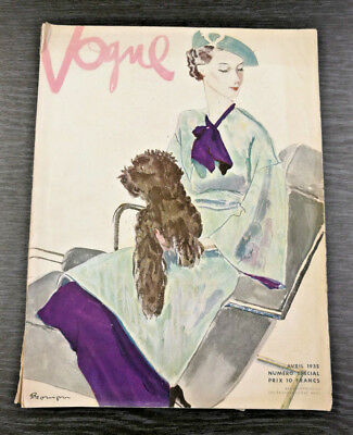 FRENCH VOGUE Magazine April 1935