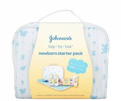 Johnsons Top To Toe newborn starter kit