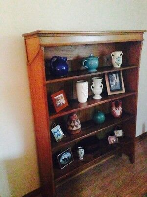 Antique Wooden Bookshelves