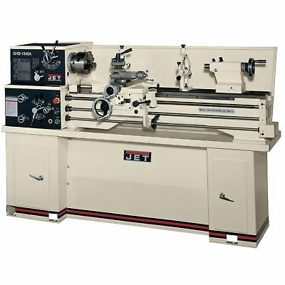 JET 321102 Metalworking Lathe w/ Acu-Rite Vue Dro + Collet Closer New